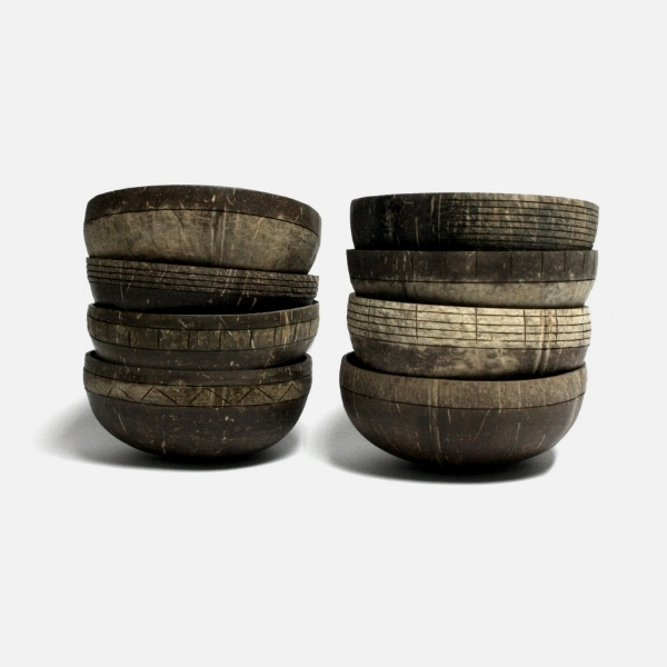 Engraved Coconut Acai Bowls