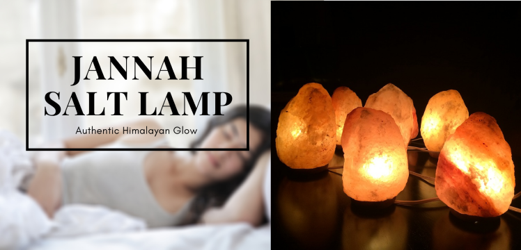 Jannah Salt Lamp